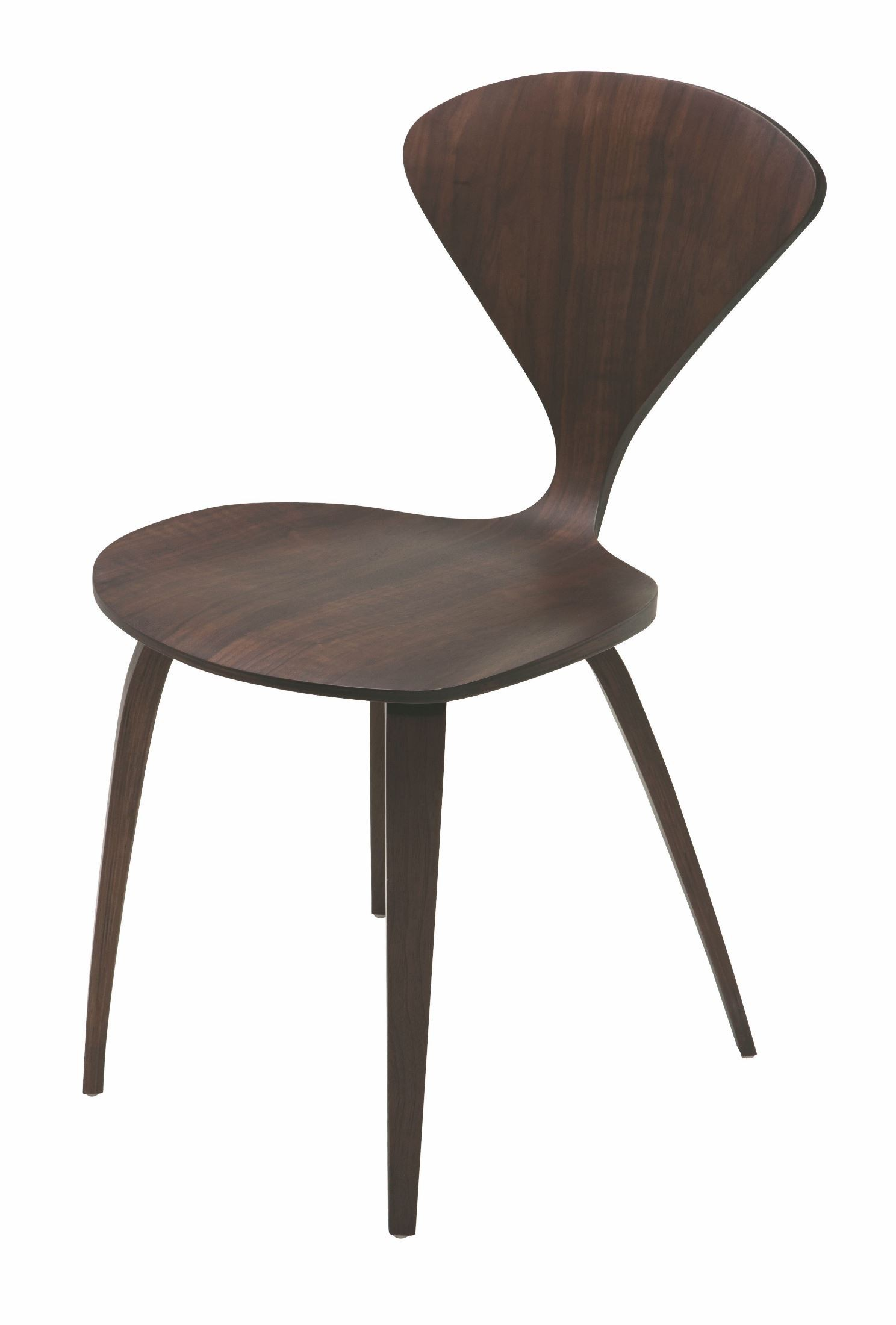 dark walnut dining chairs denver broncos bean bag chair satine wood hgem358 nuevo