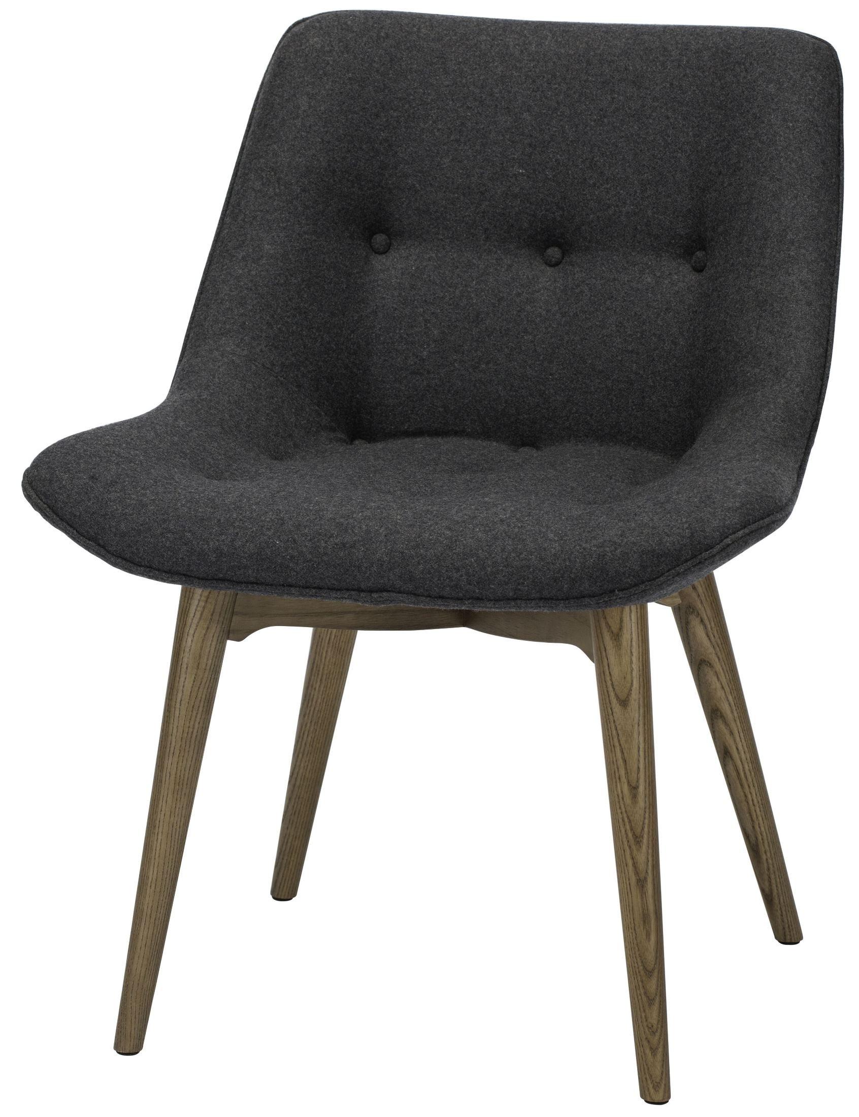 dark gray chair irest massage reviews brie grey fabric dining hgem642 nuevo