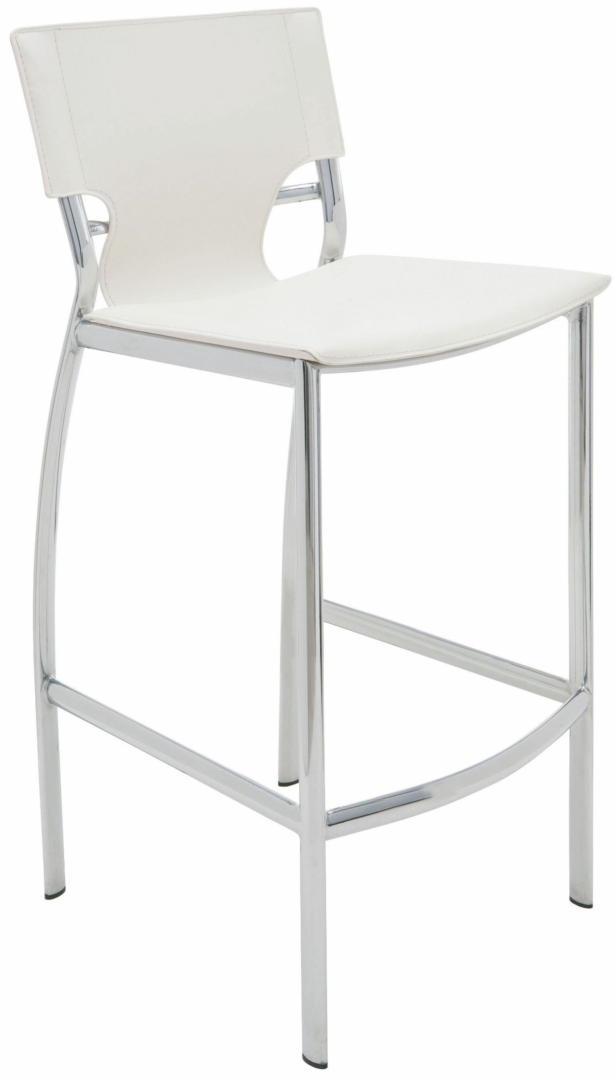 white leather bar chair ergonomic cyber monday lisbon counter stool from nuevo coleman