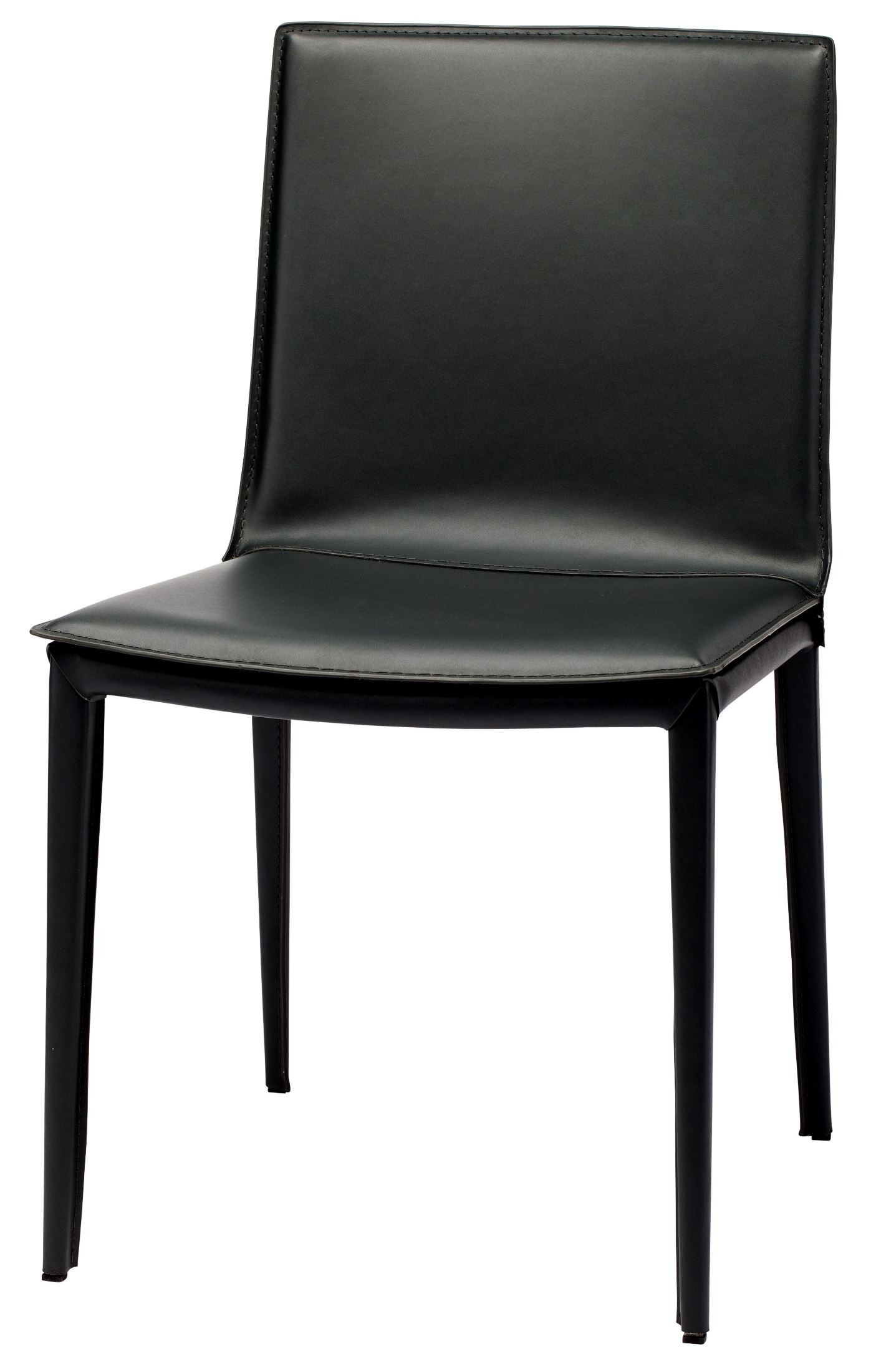 black leather chair dining sleeper and a half palma from nuevo coleman