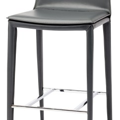 Bar Stool Chair Grey Recliner Covers Target Palma Leather Counter Hgnd110 Nuevo