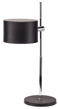 Minsk Black Metal Table Lamp from Nuevo | Coleman Furniture