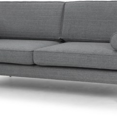 Grey Tweed Sectional Sofa Black Leather White Walls Cyrus Triple Seat From Nuevo Coleman