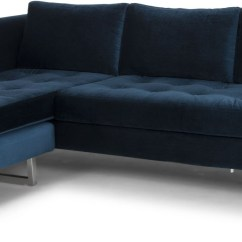 Midnight Blue Sofa Rattan Corner Stools And Coffee Table Set Matthew Sectional From Nuevo Coleman