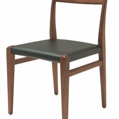 Black Leather Chair Dining Refurbished Wooden Chairs Ameri From Nuevo Coleman