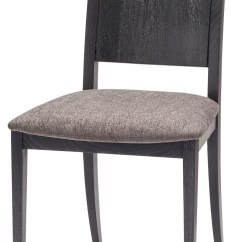 Grey Fabric Oak Dining Chairs Purple Accent Living Room Eska Dark Chair Hgsr580 Nuevo