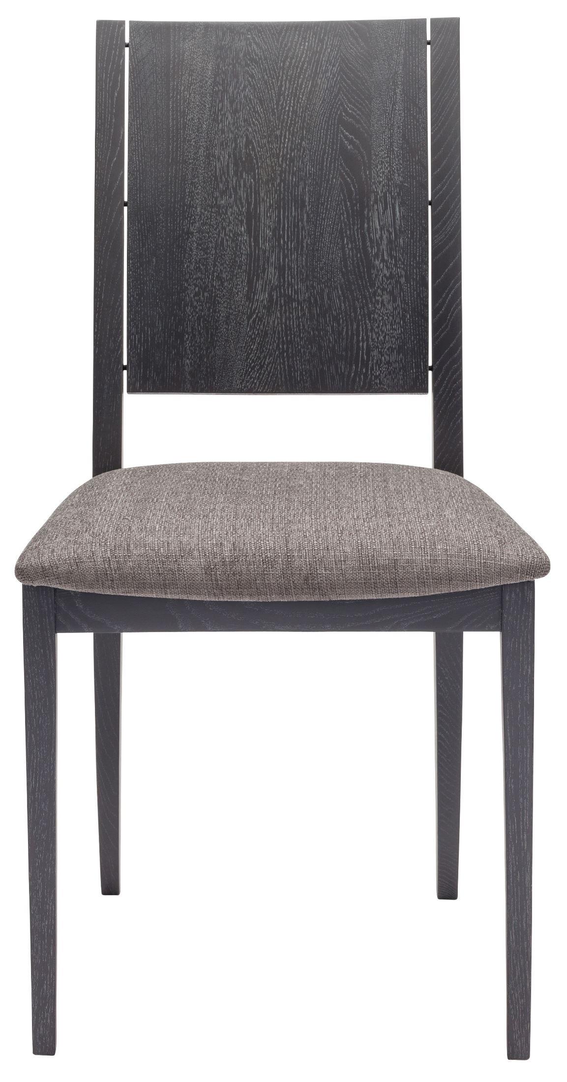 Eska Dark Grey Fabric Dining Chair HGSR580 Nuevo