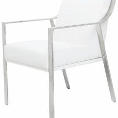 Silver Metal Dining Chairs White Nursery Chair Valentine Naugahyde And