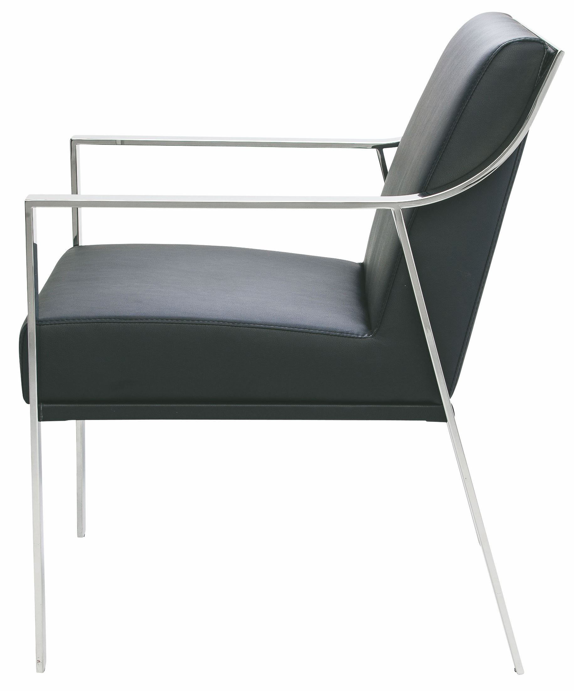 silver metal dining chairs oversized chair with ottoman valentine black naugahyde hgtb247 nuevo