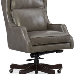 Grey Leather Desk Chair Peir One Chairs Drema Gray Home Office From Hooker Coleman