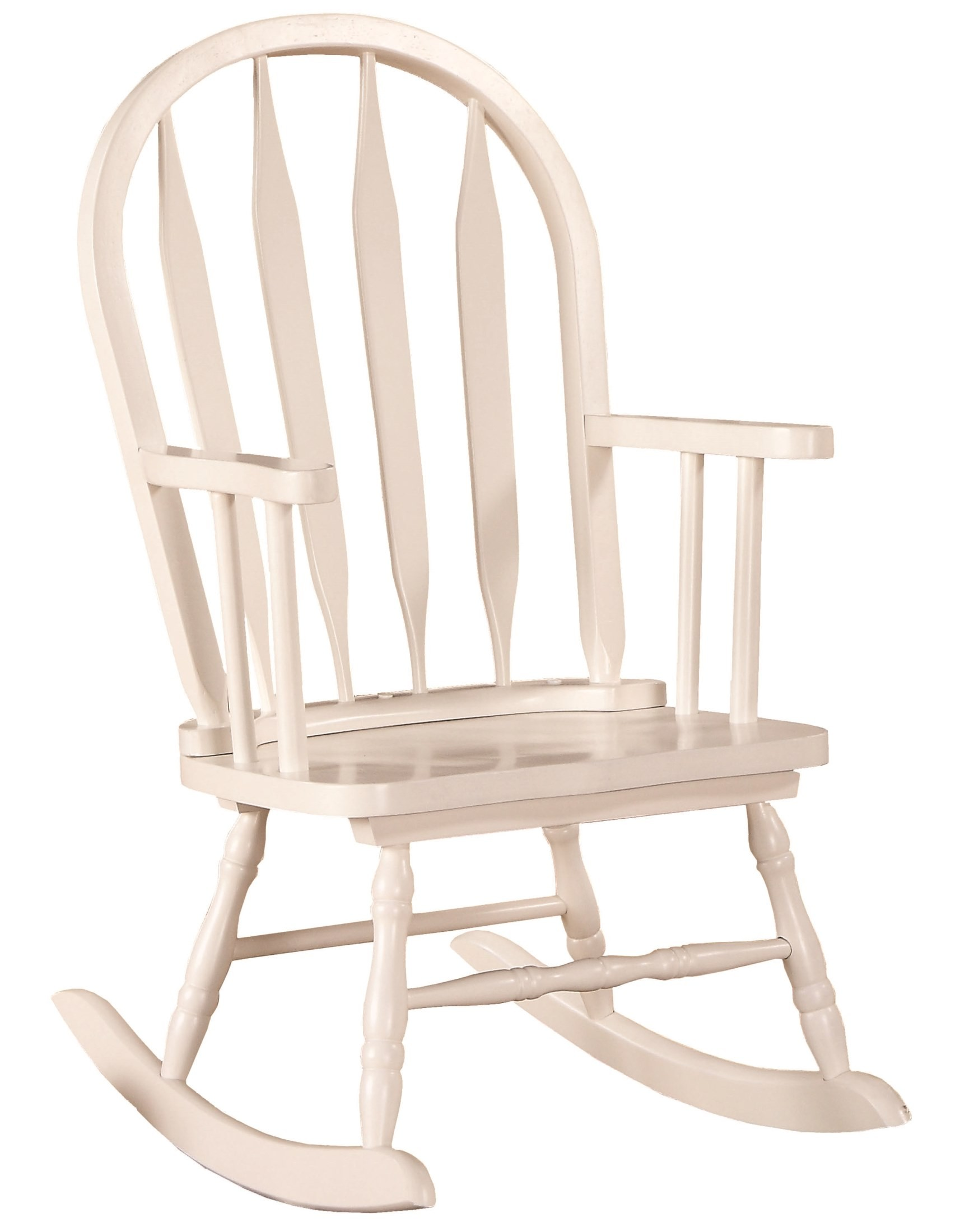 coleman rocking chair rocker game 1501 white arrow back juvenile from monarch
