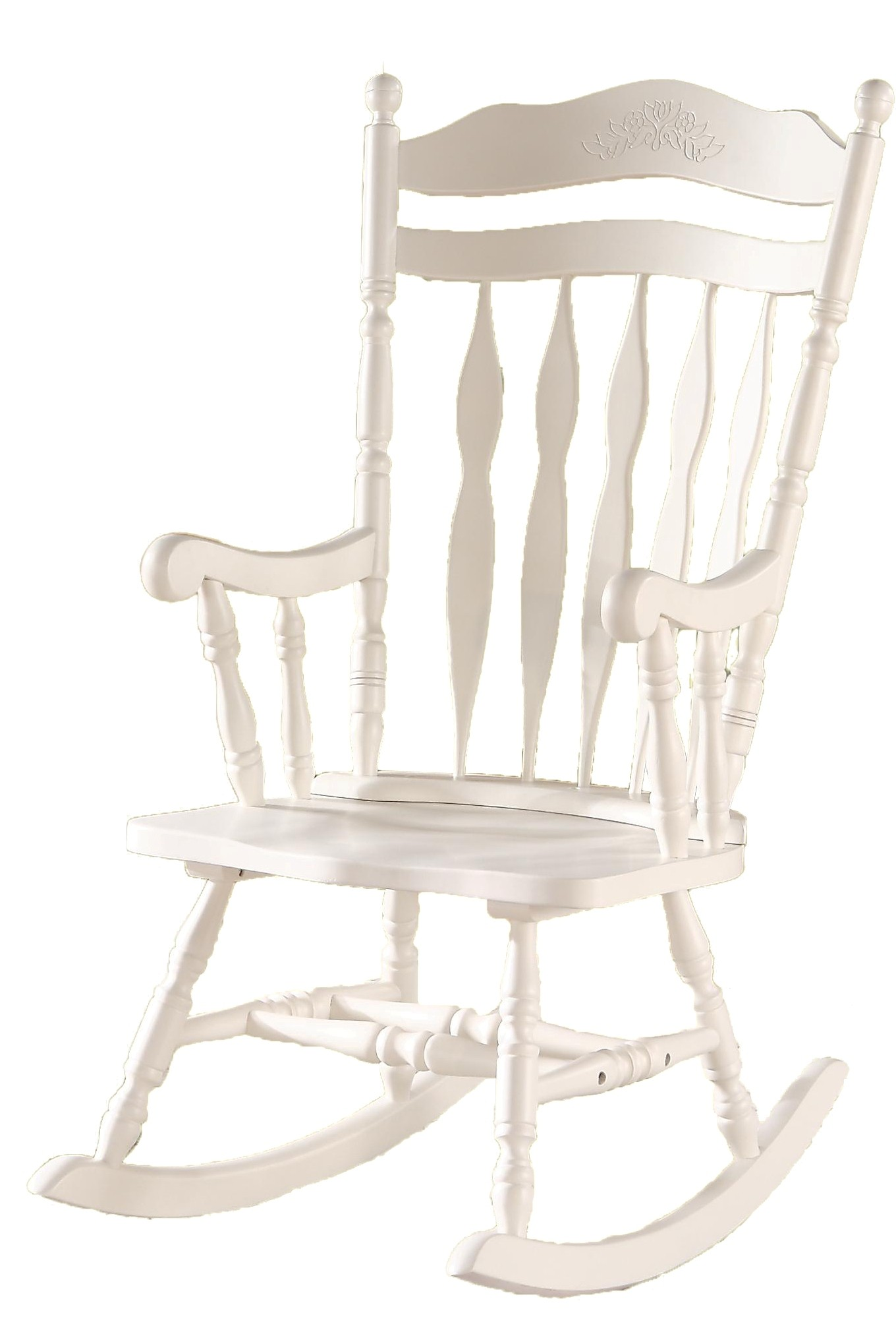 white rocking chairs for sale desk chair australia 1525 antique embossed back solid wood