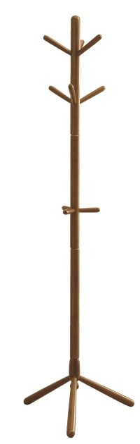 2003 Oak Solid Wood Coat Rack from Monarch (I 2003