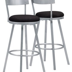 Target Space Saver High Chair Eames Inspired Rocking 2335 Black Silver Metal Spacesaver Bar Set From Monarch