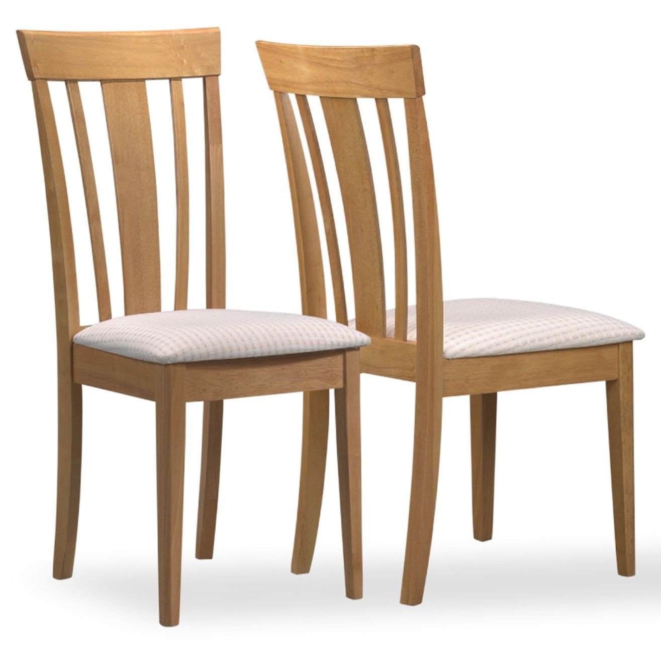 maple dining room chairs chair cover rentals kelowna 4358 fabric side set of 2 from monarch i