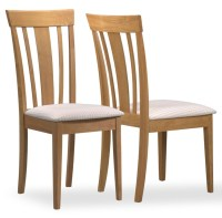 4358 Maple Fabric Side Chair Set of 2 from Monarch (I 4358 ...