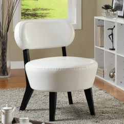 Ivory Leather Office Chair Discount Desk Chairs 8015 Bonded Accent From Monarch I