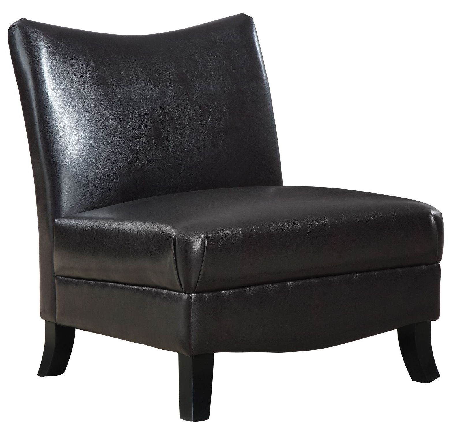 Brown Accent Chairs 8046 Dark Brown Accent Chair From Monarch I 8046