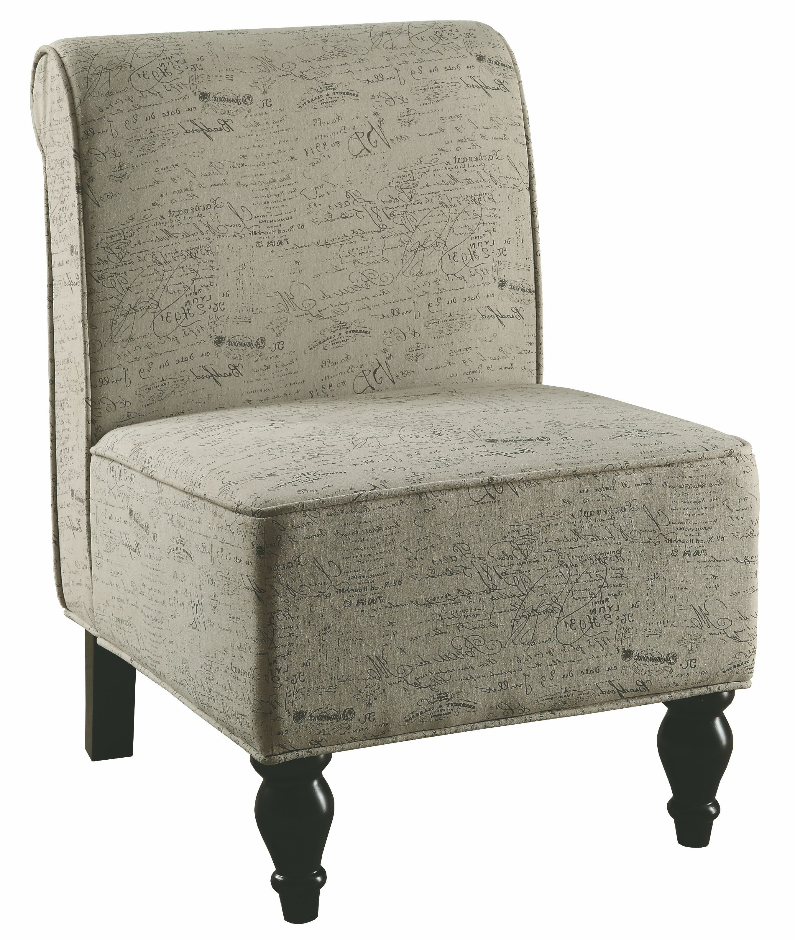 Vintage Accent Chair 8123 Vintage French Fabric Traditional Accent Chair From