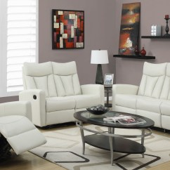 Ivory Sofa Set Cotton Duck Slipcover Leather Living Room Sets
