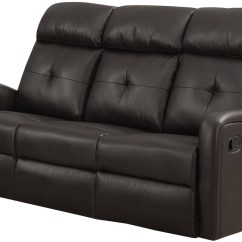 Brooklyn Bonded Leather Lounger Chair And Ottoman Painting Plastic Lawn Chairs 88br 3 Dark Brown Reclining Sofa From