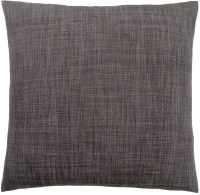 Linen Patterned Dark Grey Pillow from Monarch | Coleman ...