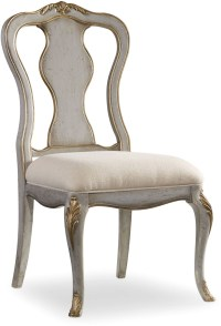 Gray Linen Desk Chair from Hooker | Coleman Furniture