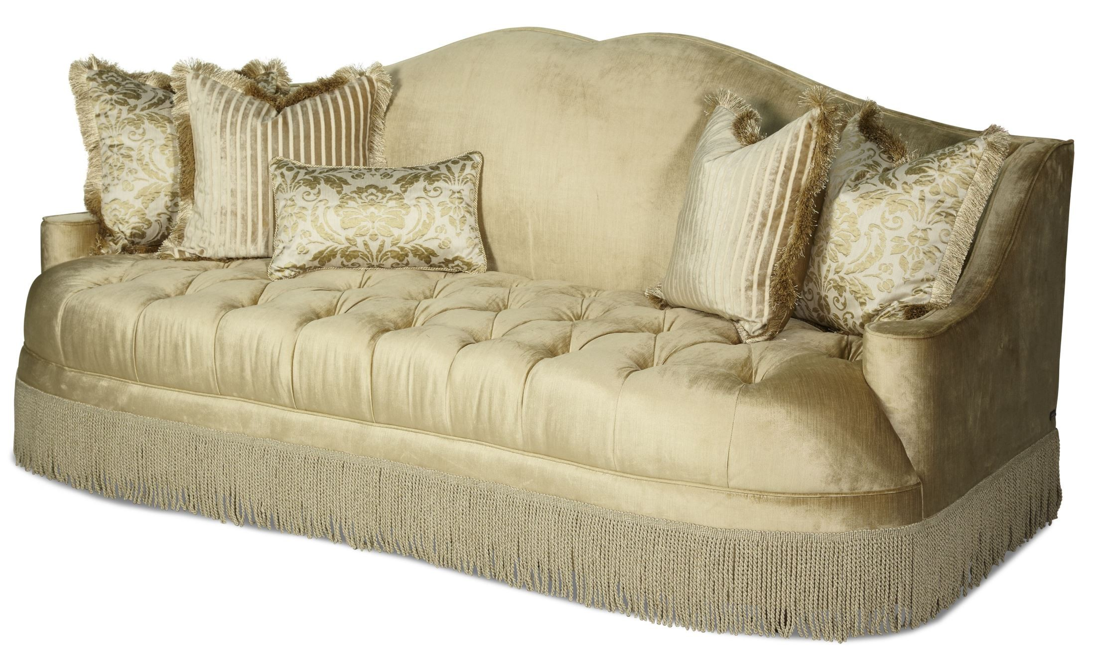 courts sofa t cushion covers imperial court pearl tufted from aico 79815 00