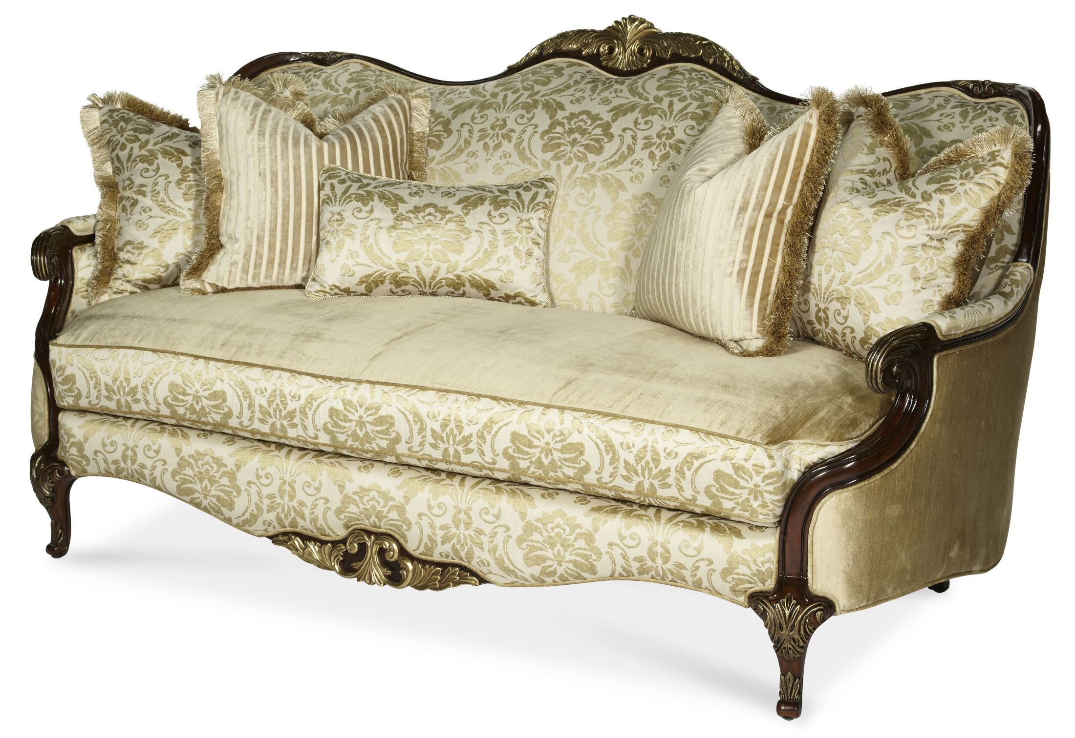 courts sofa sala set philippines imperial court wood trim from aico 79815 chpgn 40