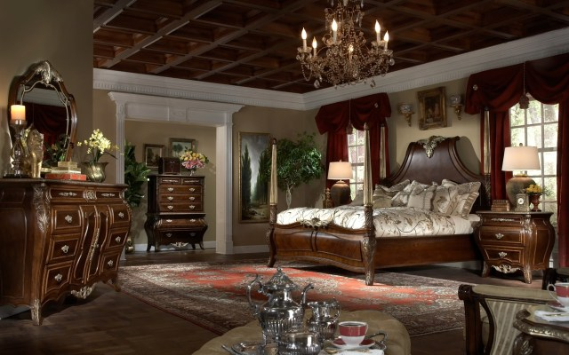 Imperial Court Panel Bedroom Set from Aico