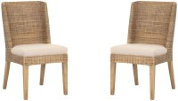 Isle Rustic Gray Dining Chair Set of 2 from Orient Express
