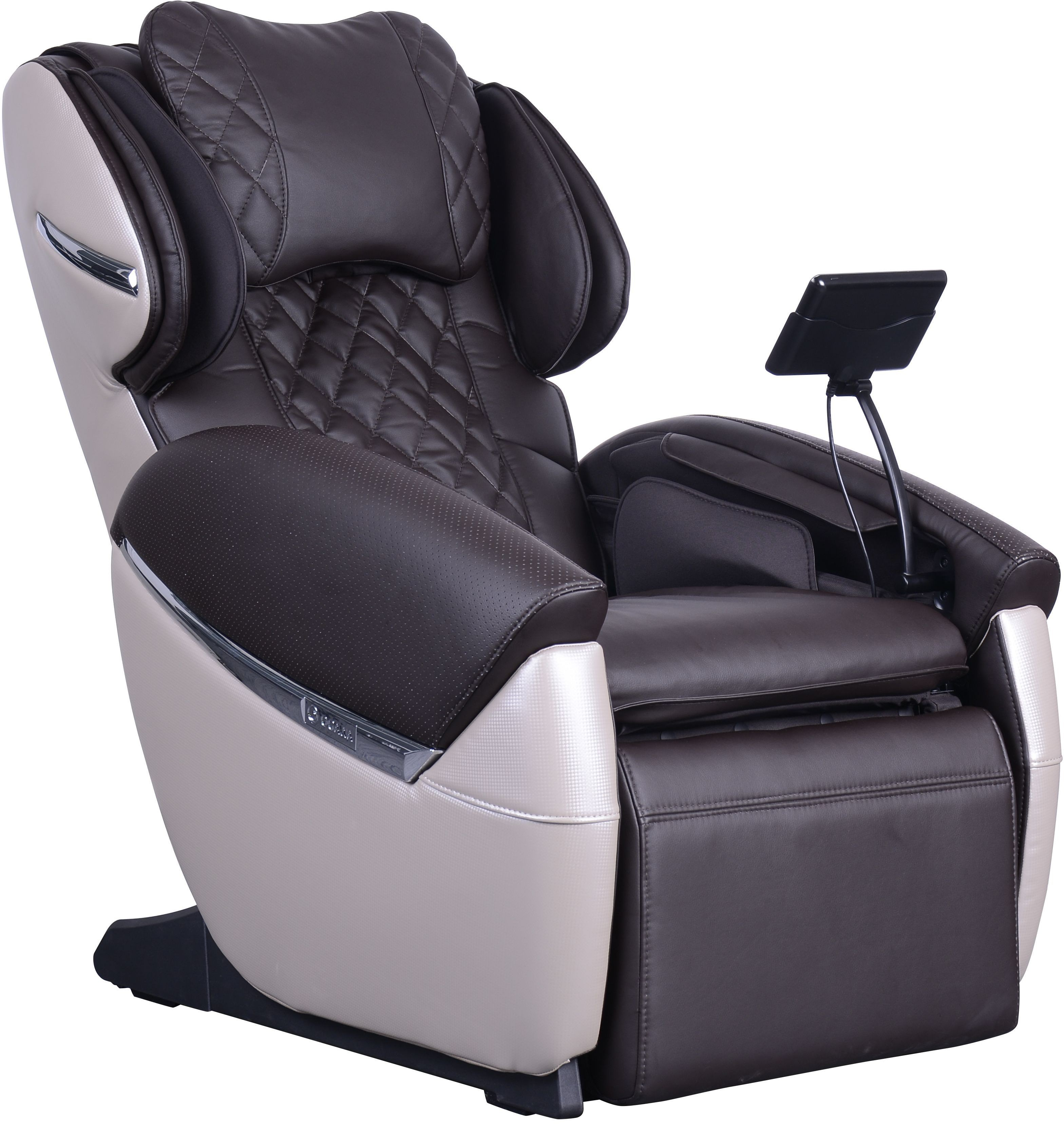 ogawa massage chair suede office ivory and chocolate evol from cozzia coleman 2475412