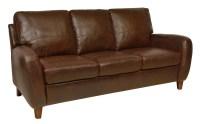 Jennifer Italian Leather Sofa from Luke Leather | Coleman ...