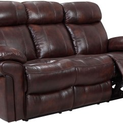 Brown Leather Sofa Recliner Cheap 2pc Sectional Shae Joplin Power Reclining From