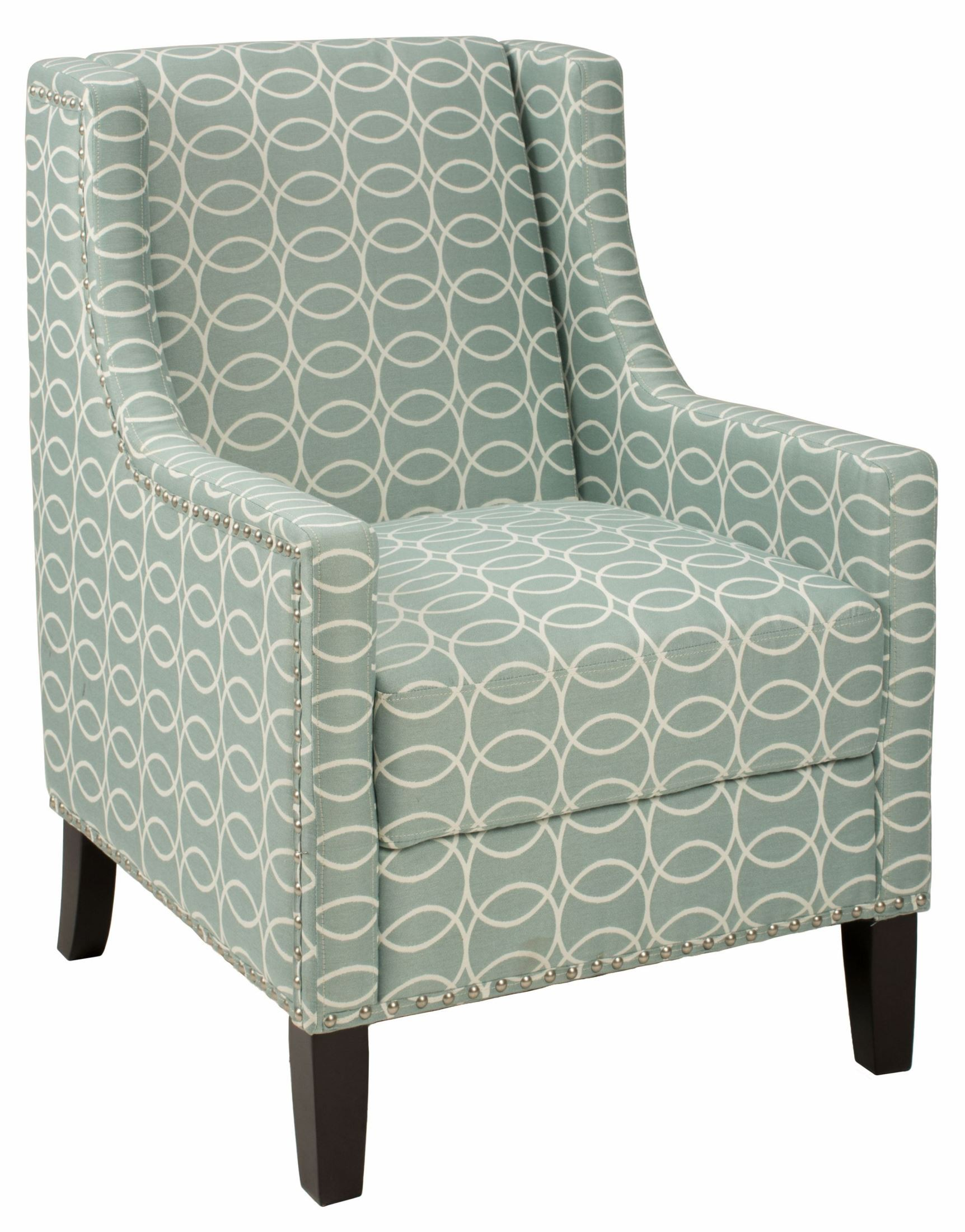 Light Gray Accent Chairs Josie Light Blue And Grey Accent Chair Josie Ch Spa Jofran