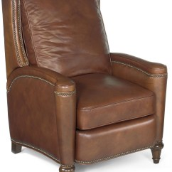 Brown Leather Recliner Chair Reclining Office Target Rylea Light From Hooker Coleman