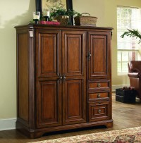Brookhaven Cherry Computer Cabinet from Hooker | Coleman ...