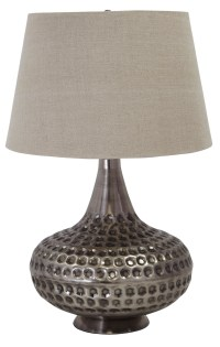 Pewter Metal Table Lamp from Ashley (L207844) | Coleman ...
