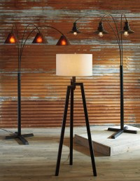 Sharde Metal Arc Lamp from Ashley (L725049)