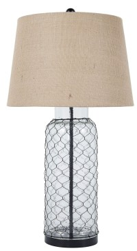 Transparent Glass Table Lamp from Ashley (L430114 ...