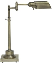 Arawn Antique Brass Metal Desk Lamp, L734172, Ashley