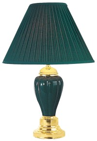 Hunter Green Table Lamp Set of 6 from Furniture of America ...