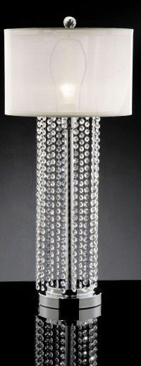 Claris Hanging Crystal Table Lamp from Furniture of ...