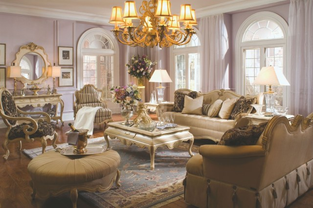 Lavelle Blanc Living Room Set from Aico