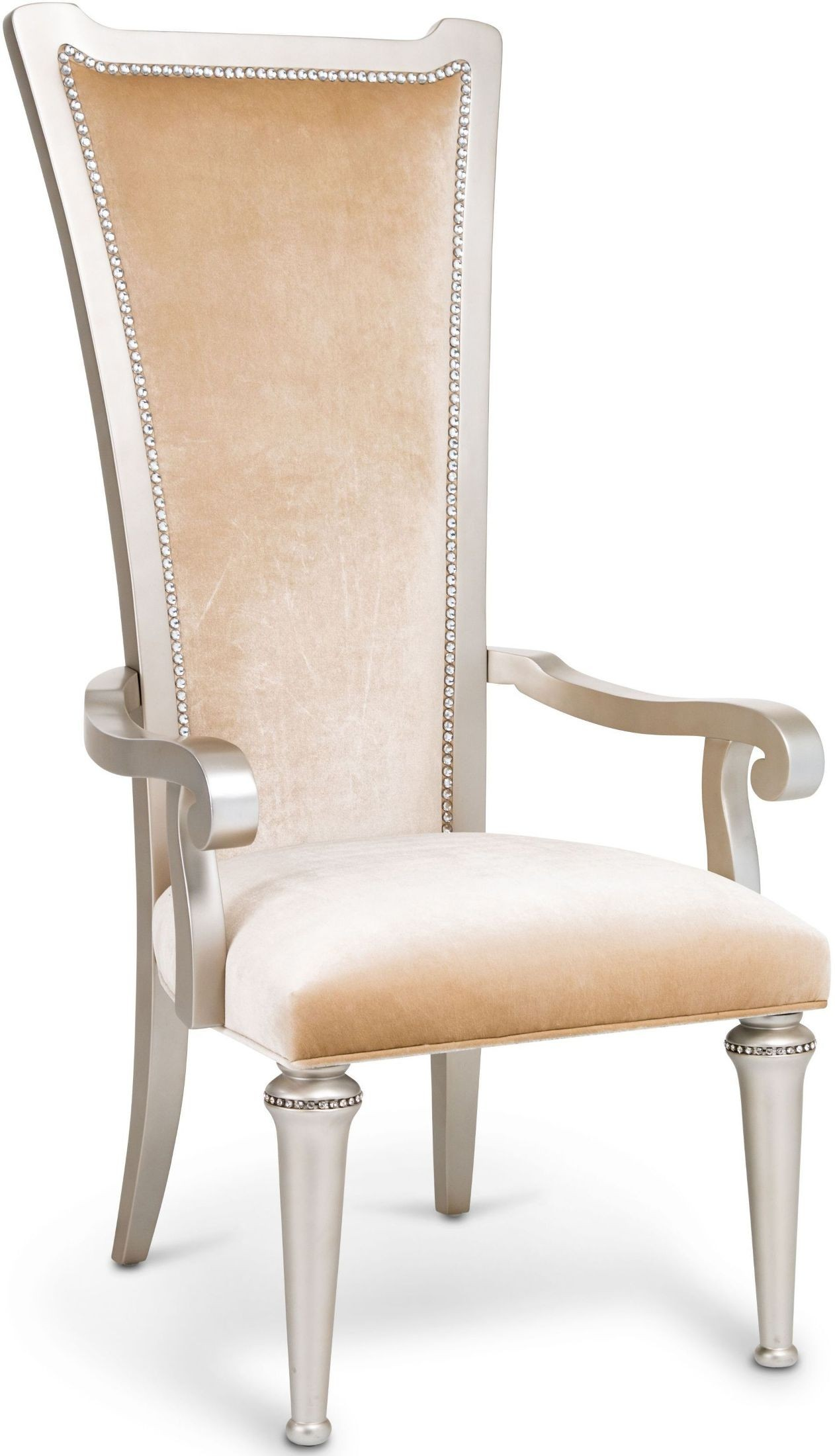 Champagne Chair Bel Air Park Champagne Desk Chair From Aico Coleman