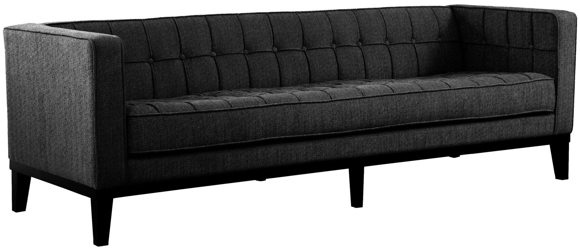 loft charcoal sofa bed blue leather reclining and loveseat roxbury fabric lc10103ch armen living