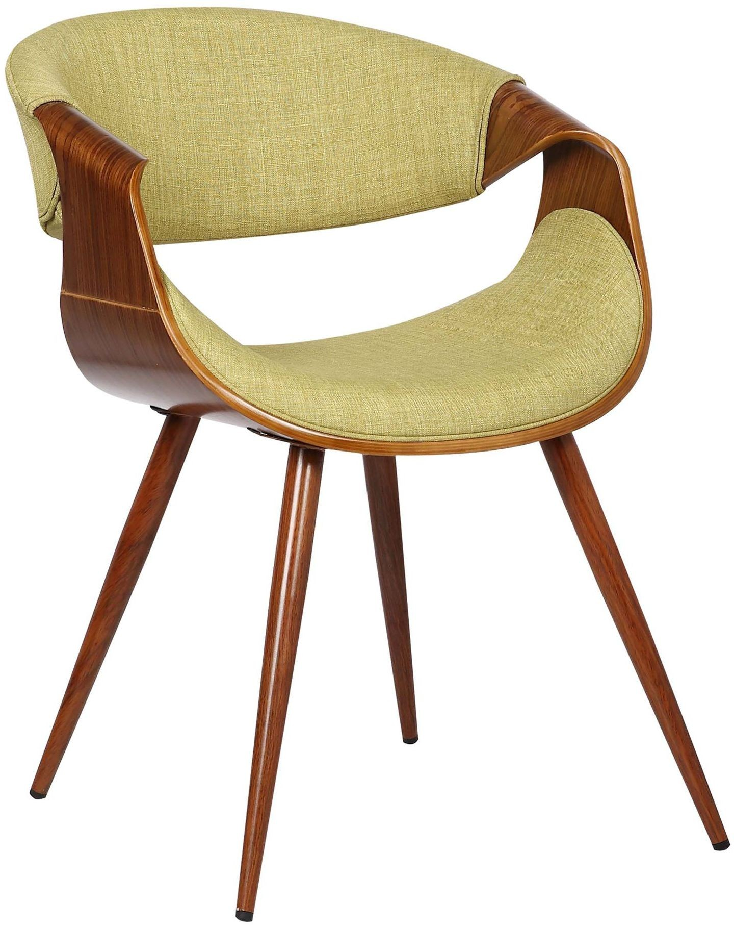 Butterfly MidCentury Green Dining Chair Set of 2 from
