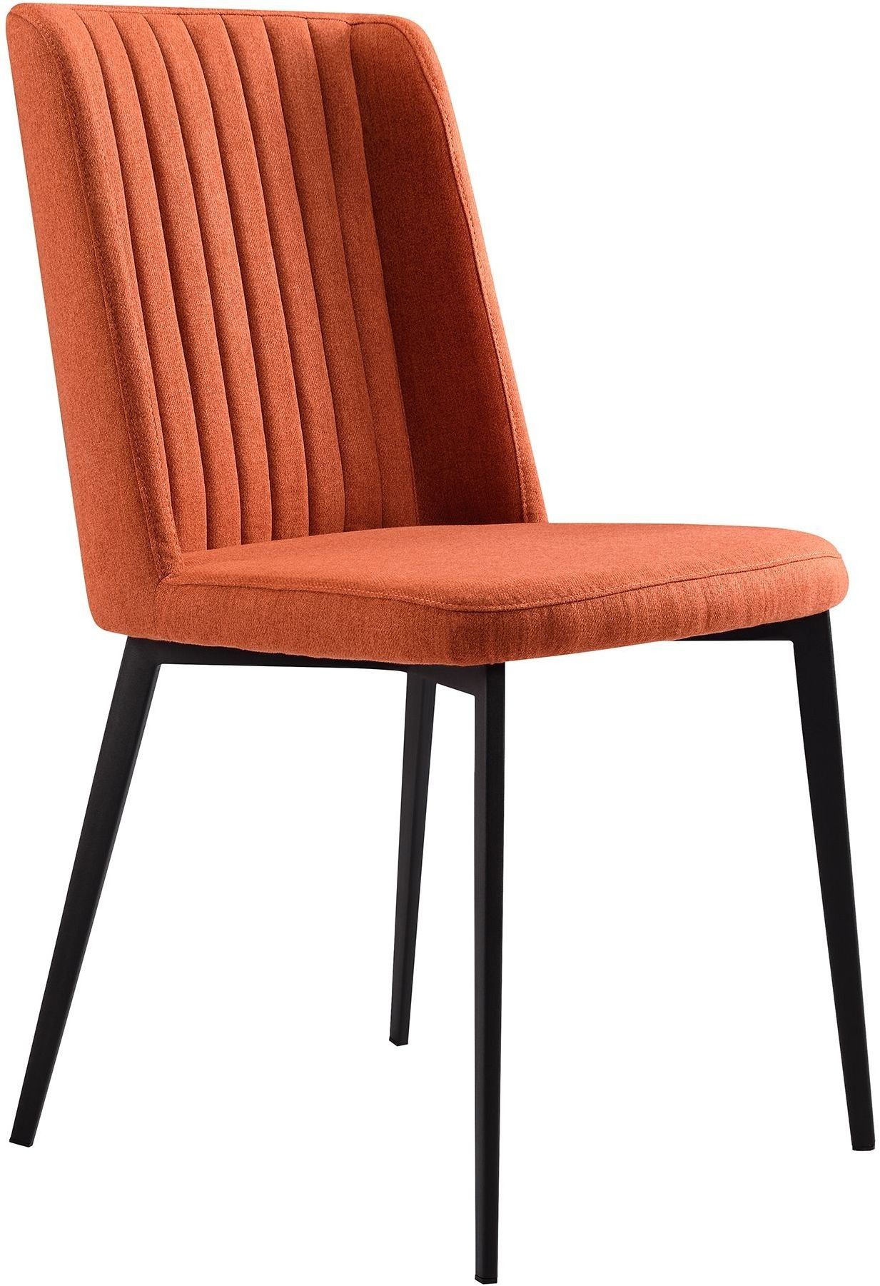 orange upholstered chair covers hire dublin maine dining side set of 2 from