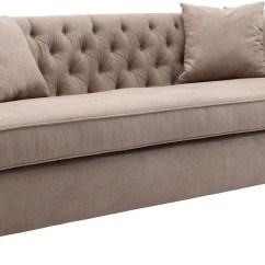 Camel Tufted Sofa Chaise American Leather Nyc Rhianna Lcrh3ca Armen Living