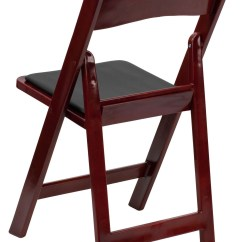 Hercules Folding Chair 30 Second Stand G Code Series Red Mahogany Resin Vinyl